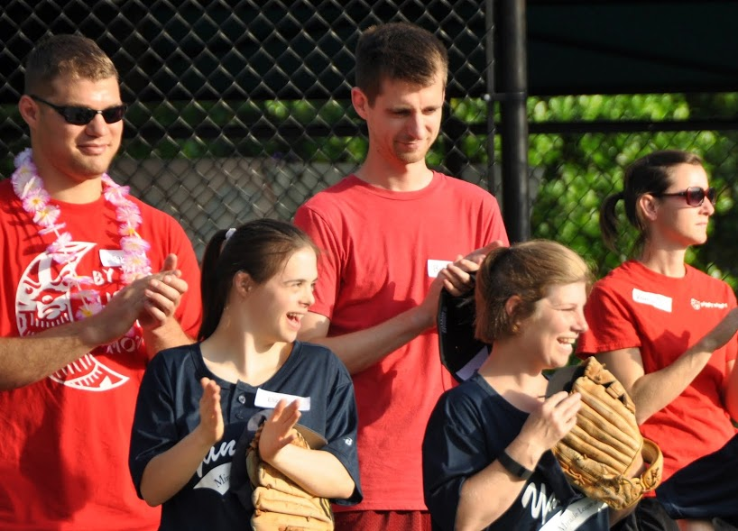 Miracle League players and coaches - May 19, 2015