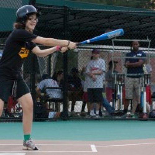 Player up to bat